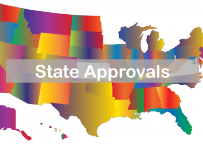 State Approvals